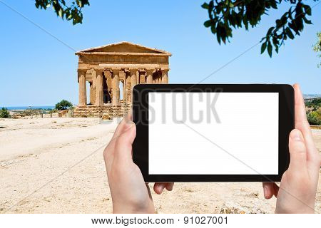 Photo Of Temple Of Concordia In Valley Of Temples