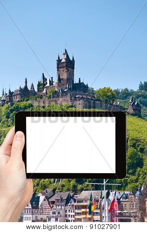 Tourist Photographs Town Cochem, Germany