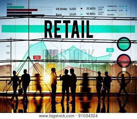 Retail Commerce Sale Selling Business Concept