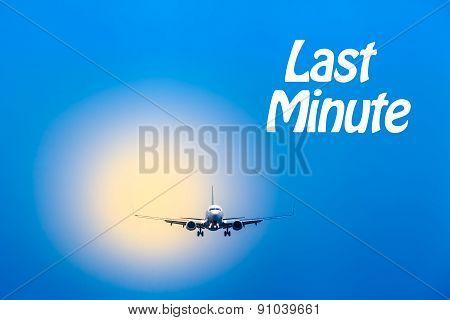 Air Travel - Last Minute