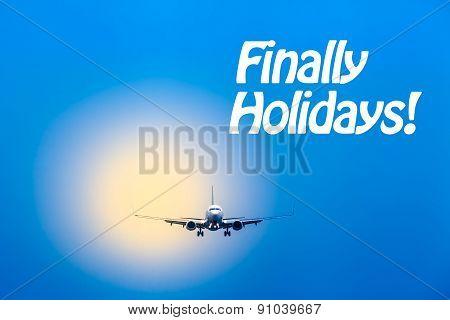 Air Travel - Finally Holidays
