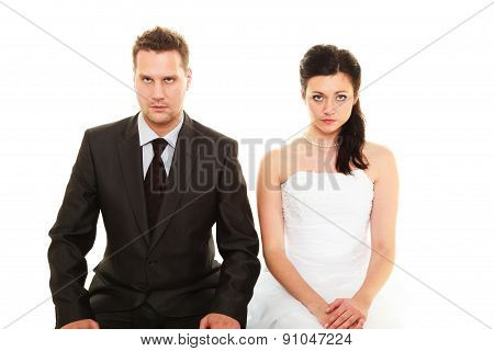 Bad Relationship Concept.
