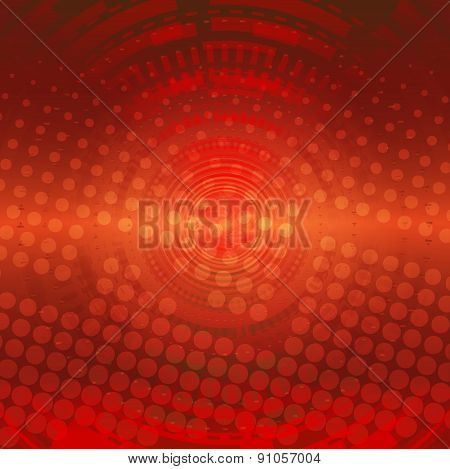 Red technologies background