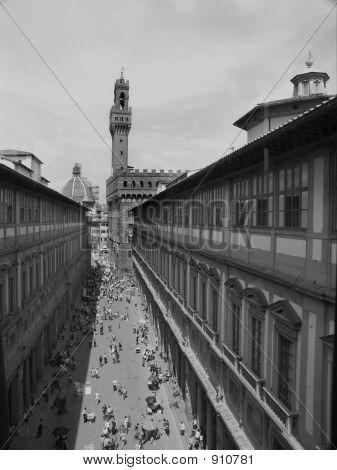 Uitzicht op Florence.