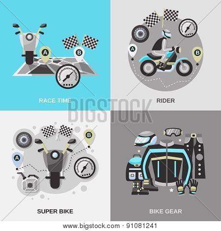 Rider Flat Set
