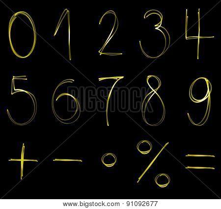 Flourescent numbers