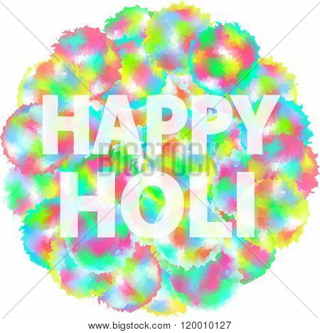 Holi Indian Festive Happy Holi Spring Holiday Color 1