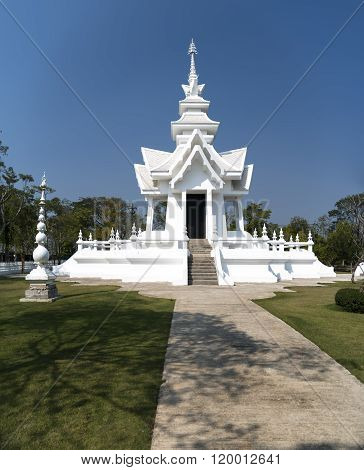 Parts of White Temple, Chiang Rai Thailand