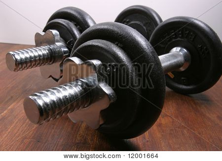 Two Small Barbells