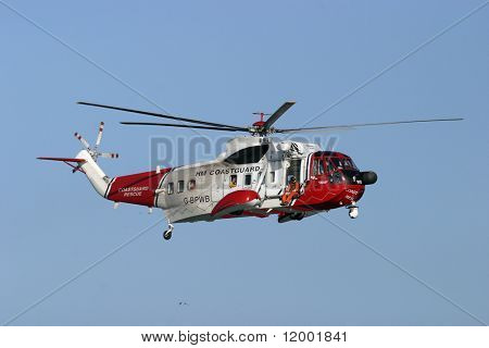 Coastguard Rescue Helicopter