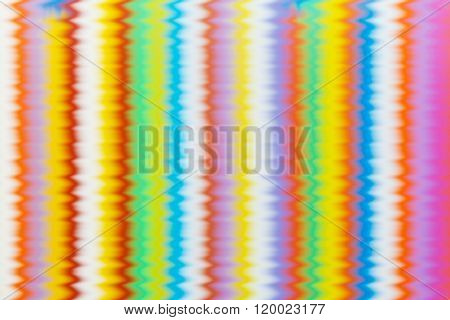 Multi Color Flexible Straws  Vertical  Pattern With Effects Wave