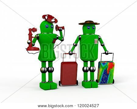 Androids Tourists