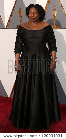 LOS ANGELES - FEB 28:  Whoopi Goldberg at the 88th Annual Academy Awards - Arrivals at the Dolby Theater on February 28, 2016 in Los Angeles, CA