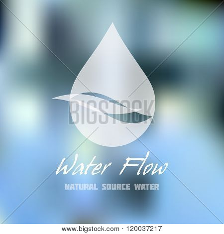 Mineral Water, Water Supply, Plumbing Business Sign