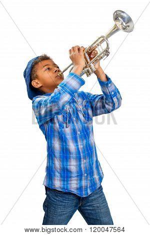 Jazz trumpeter.