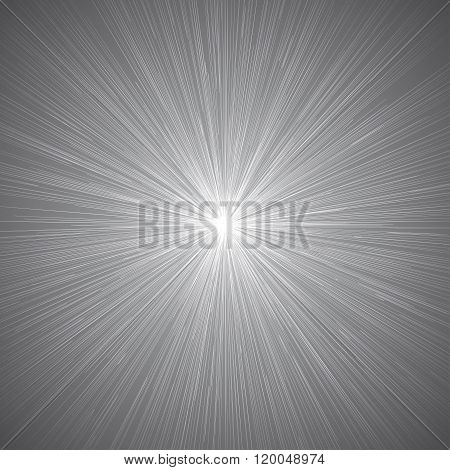 Radial Speed Lines Graphic Effects Background Grey 01