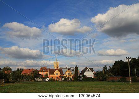 vidnava city (weidenau) in the cezch republic