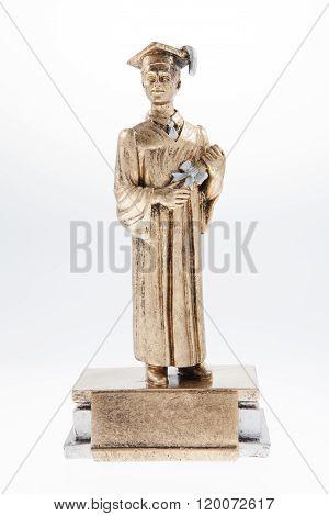 Male Graduation Statue