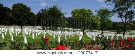 Lorraine American Cemetery and Memorial, France