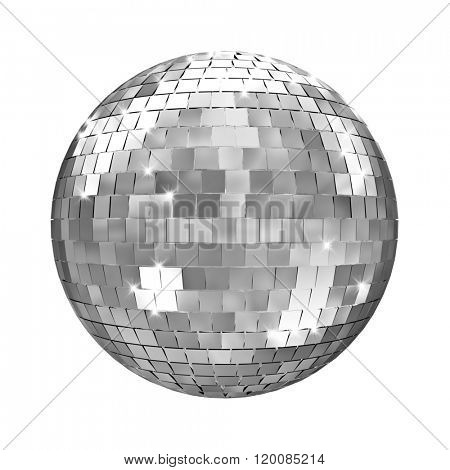disco mirror ball 3d image