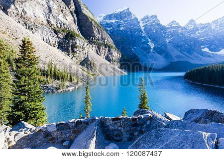 Moraine Lake, Lake Louise, Banff National Park, Canada