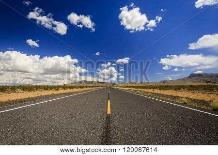 Endless Highway 91 Near.littlefield