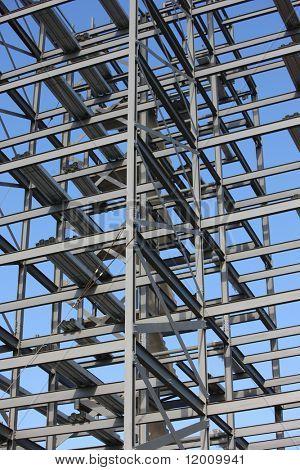 Steel framework
