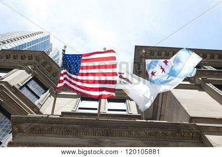 National Flags Waving