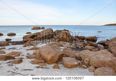 Bunker Bay: Granite Formations