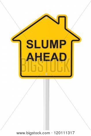 Real estate market slump ahead