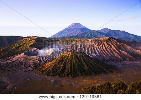 Sunrise At Mount Bromo Volcano, Indonesia.