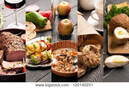 Cuisine Of Different Countries