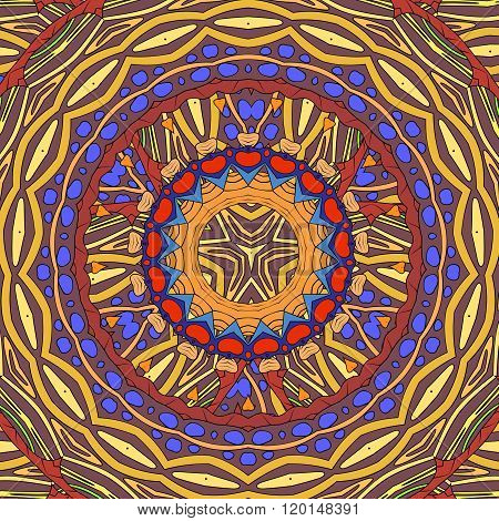 Stained-glass Color Background.