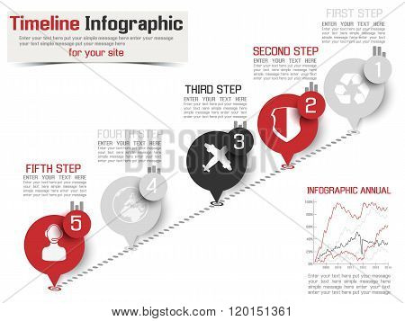 Timeline Infographic New Style
