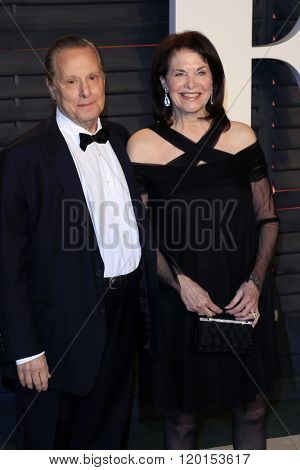 LOS ANGELES - FEB 28:  William Friedkin, Sherry Lansing at the 2016 Vanity Fair Oscar Party at the Wallis Annenberg Center for the Performing Arts on February 28, 2016 in Beverly Hills, CA