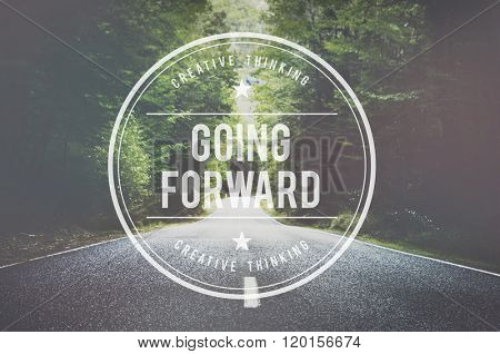 Going Forward Mission Choice Success Concept