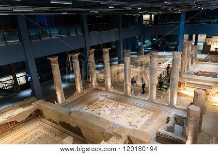 Zeugma Mosaic Museum. Gaziantep. Turkey