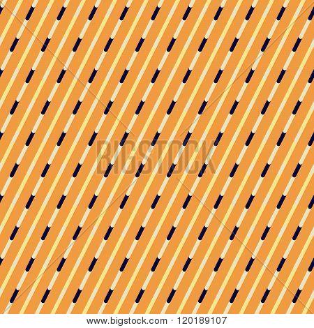 Orange And Blue Diagonal Stripes Pattern.