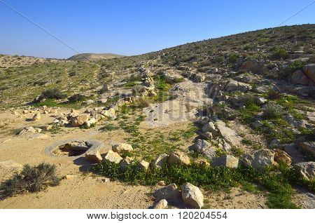 Nabatean Well For Rainwater
