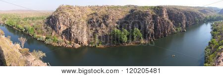 Panoramic view over Katherine Gorge, Northern Territory, Australia