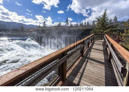Boardwalk By The Dam.