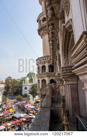 Architecture of Charminar Hyderabad