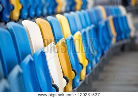 Empty Seats At The Stadium
