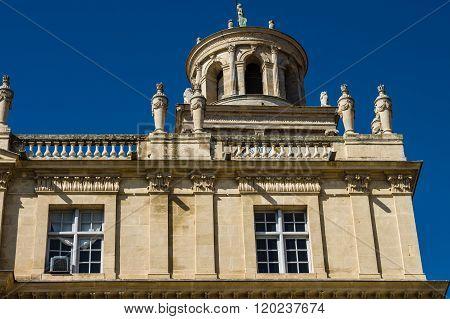 Hotel De Ville (town Hall) Of Arles - France