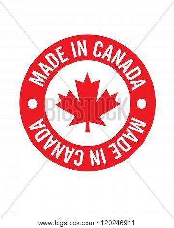 Vector 'Made in Canada' Emblem and Symbol Set