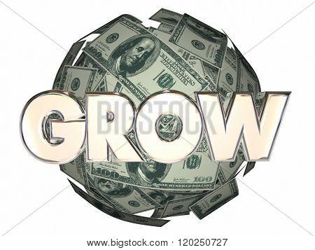 Grow Money Cash Ball Nest Egg More Increase Income