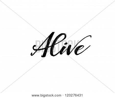 Alive Phrase.