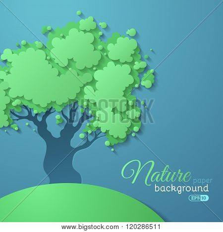 Paper Nature Background.