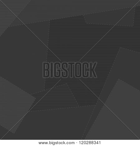 Abstract Geometric Grey Background