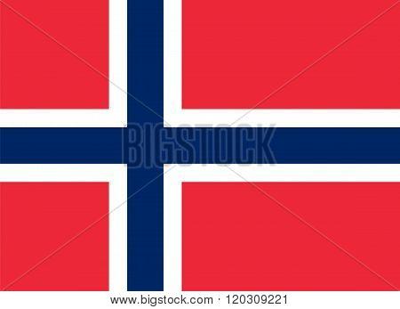 Standard Proportions For Jan Mayen Official Flag
